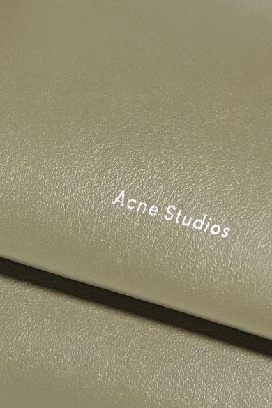 d192653b1f407 Acne Studios. Crossbody mini leather shoulder bag.  413. Zoom In