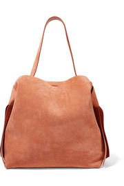 Acne Studios Musubi Maxi knotted suede shoulder bag
