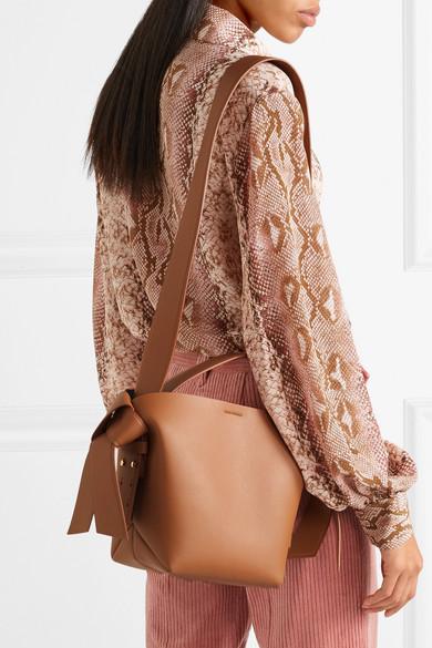 durable service choose authentic Discover Acne Studios | Musubi Mini knotted leather shoulder bag ...