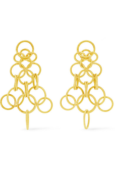 Hawaii 18 Karat Gold Earrings