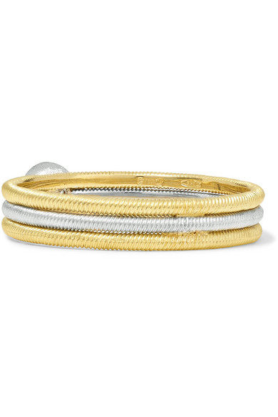 Hawaii 18-karat Yellow And White Gold Diamond Ring - 52 Buccellati D3TeM