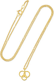Buccellati Hawaii 18-karat gold necklace