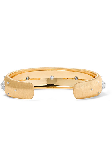 Buccellati Macri 18-karat Gold Bracelet PgfsbJJ
