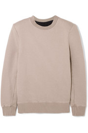 Unravel Project Cotton-terry sweatshirt