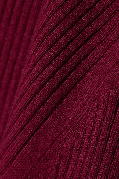Proenza Schouler Knits Ribbed silk-blend sweater