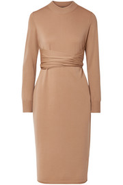 Proenza Schouler Belted stretch wool-blend dress