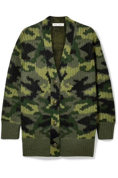 PROENZA SCHOULER PSWL wool-blend jacquard cardigan