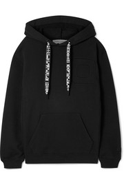 Proenza Schouler PSWL oversized cotton-jersey hooded top