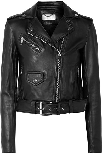 Leather Biker Jacket by Michael Michael Kors
