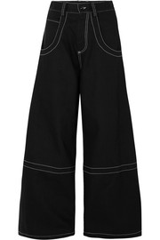 Maison Margiela High-rise wide-leg jeans