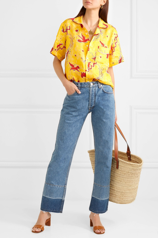 Loewe + Paula's Ibiza printed linen shirt