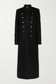 Saint Laurent Wool-felt coat