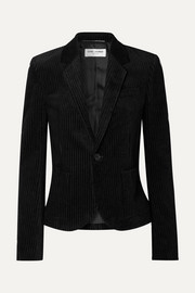 Cotton-corduroy blazer