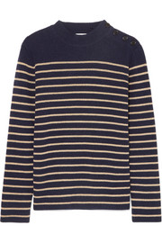 Saint Laurent Striped wool-blend sweater