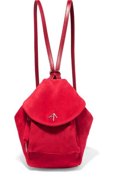 Fernweh mini suede backpack