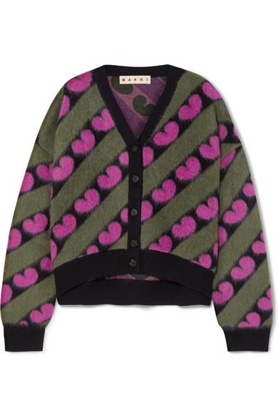 5e8ab5df08c506 Marni   Intarsia knitted cardigan   NET-A-PORTER.COM
