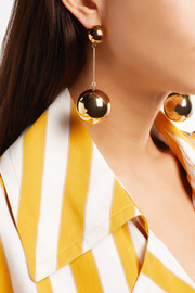 JW Anderson Gold-plated earrings