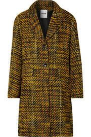 Koché Taylor oversized tweed coat