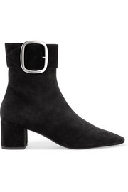 Saint Laurent Joplin suede ankle boots