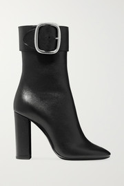 Saint Laurent Joplin leather ankle boots