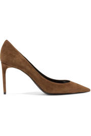 Zoe suede pumps