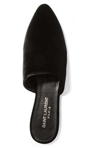 Saint Laurent | Slippers Bliss Slippers | aus Samt 272b5f