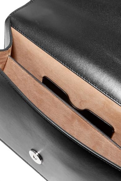 Small Leather Knuckle Embellished Shoulder Bag展示图