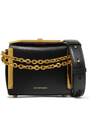 Alexander McQueen Box Bag 16 leather shoulder bag