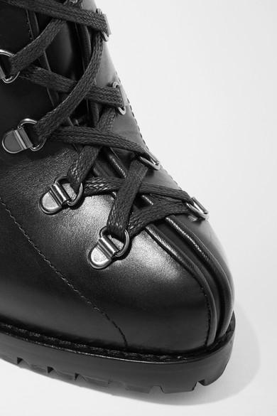 Alaïa | 135 mm Ankle Leder Boots aus Leder Ankle 61b94e