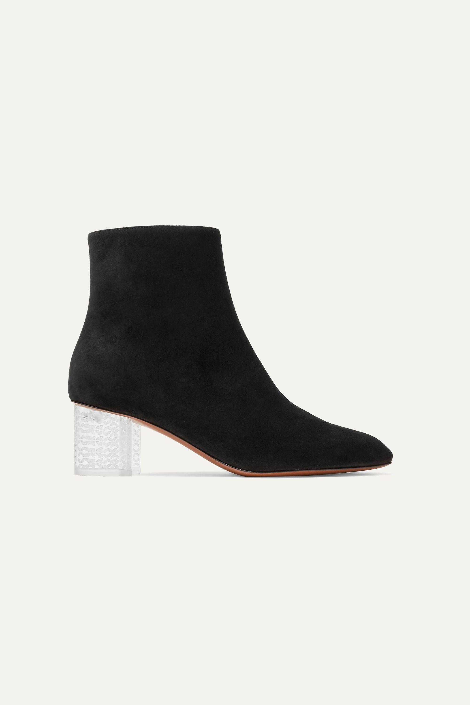 Black 50 Suede ankle boots | Alaïa