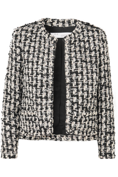 Gonna Faux Pearl Embellished Tweed Jacket by Iro