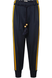 Peter Pilotto Striped satin track pants
