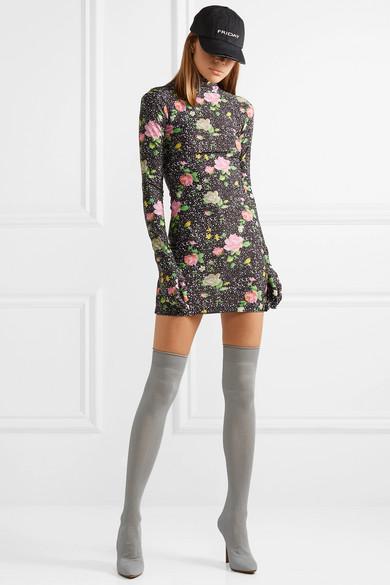 d89195daf9cd Vetements | Ribbed-knit over-the-knee sock boots | NET-A-PORTER.COM
