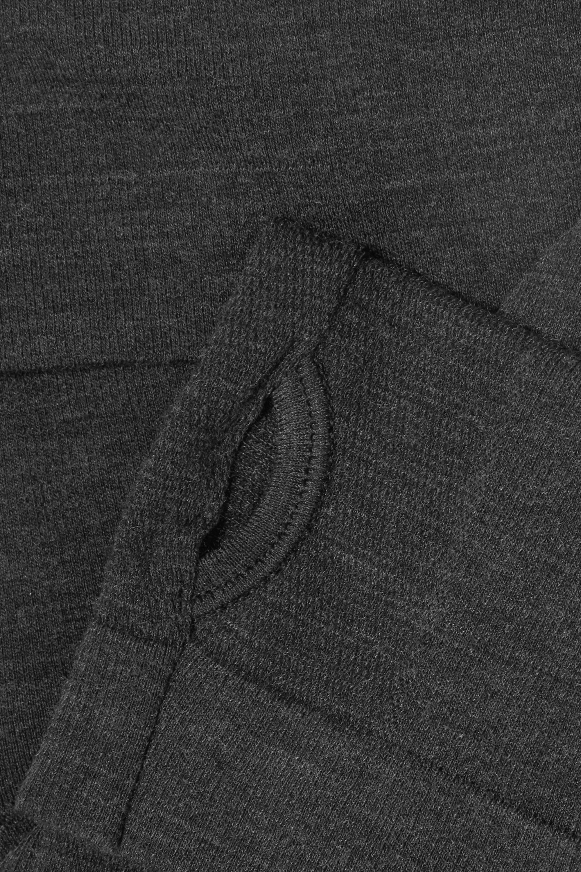 FALKE Ergonomic Sport System Wool-blend turtleneck top
