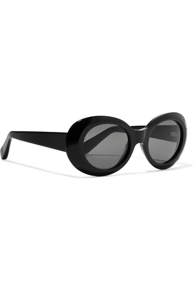 Mustang Round Frame Acetate Sunglasses by Acne Studios