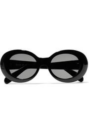 아크네 스튜디오 머스탱 라운드 선글라스 Acne Studios Mustang round-frame acetate sunglasses