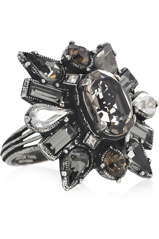 Lanvin Crystal ring