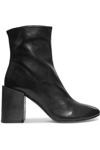 Acne Boots Studios | Saul Ankle Boots Acne aus Leder 4f55c6
