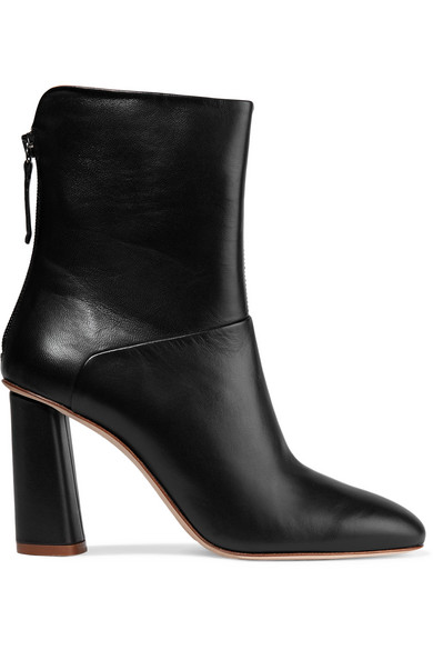 Acne Studios High-Heeled Ankle Boots In Black
