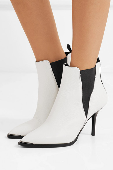 Acne Studios | Jemma Leder Ankle Boots aus strukturiertem Leder Jemma 2b9fd9