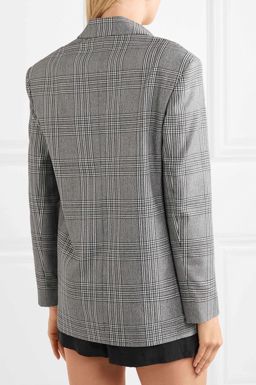 Maje Checked woven blazer
