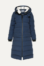 3L Verba convertible hooded quilted down ski coat