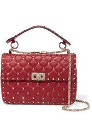 Valentino The Rockstud Spike medium quilted leather shoulder bag