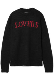 AMIRI Intarsia wool-blend sweater