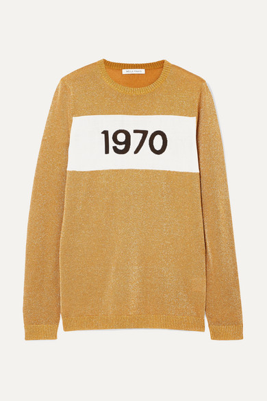1970 METALLIC KNITTED SWEATER