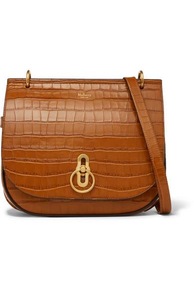 672901329c ... best mulberry amberley croc effect leather shoulder bag net a porter  b8d80 693da