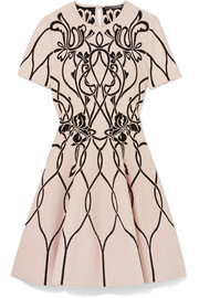 Alexander McQueen Jacquard-knit mini dress