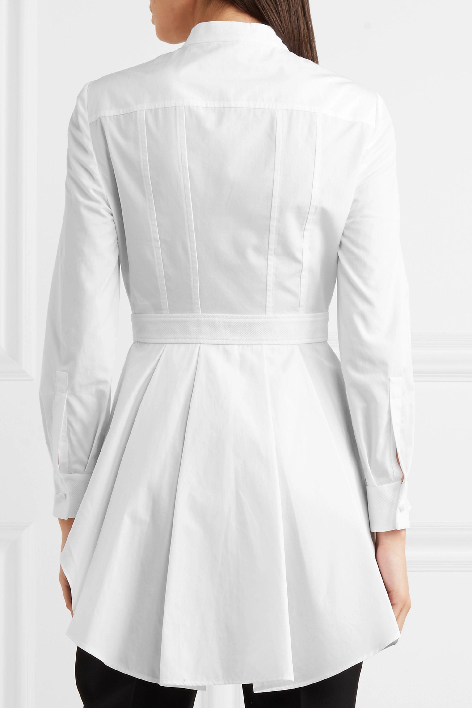 Alexander McQueen Cotton-poplin shirt