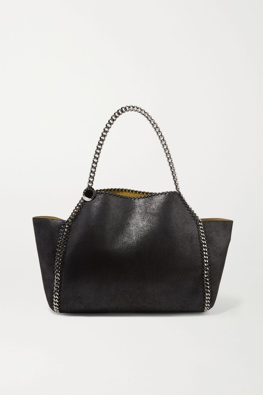 Stella McCartney The Falabella medium reversible faux brushed-leather tote