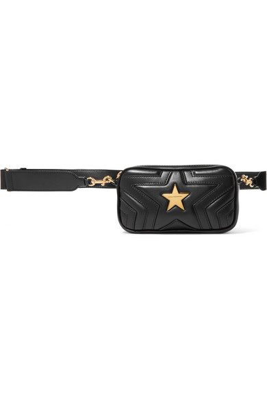 f6675199acd28 Stella McCartney. Star quilted faux leather belt bag. £595